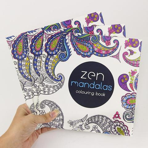 Zen Mandalas | Adult Coloring Book - Treasure Studios Art