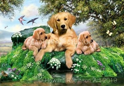 Golden Summer Days : by Howard Robinson | Diamond Painting - Treasure Studios Art