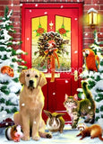 Christmas Welcome : by Howard Robinson | Diamond Painting - Treasure Studios Art