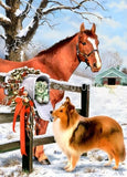 Winter Companions : by Howard Robinson | Diamond Painting - Treasure Studios Art
