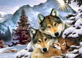Wolf Harmony : by Howard Robinson | Diamond Painting - Treasure Studios Art