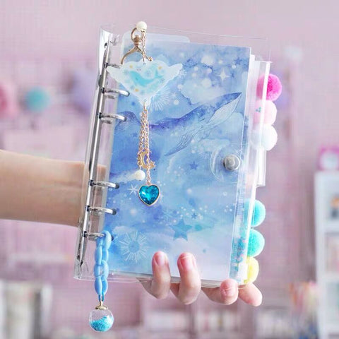 Crystal Girl Star Hand Journal