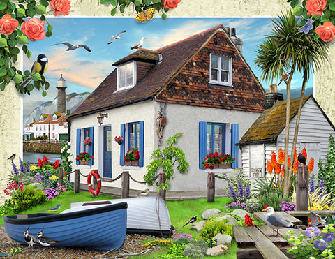 Fishermans Cottage by Howard Robinson | Diamond Painting