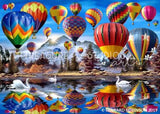 Hot Air balloons by Howard Robinson | Diamond Painting - Treasure Studios Art
