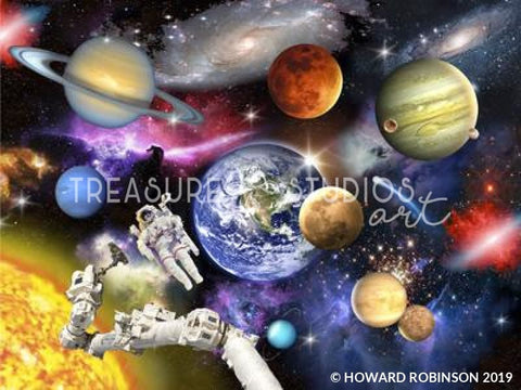 Outer Space by Howard Robinson | Diamond Painting - Treasure Studios Art