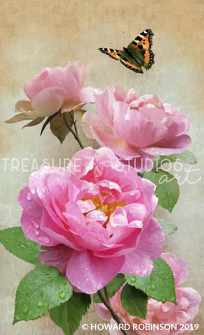 Roses by Howard Robinson | Diamond Painting - Treasure Studios Art