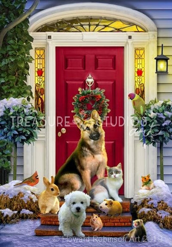 Welcome Home : by Howard Robinson | Diamond Painting - Treasure Studios Art
