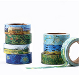 Van Gogh Design Washi Tape | Diamond Painting Accessories - Treasure Studios Art