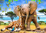 Best Pals by Howard Robinson | Diamond Painting - Treasure Studios Art