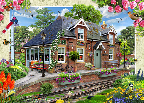 Railway Cottage by Howard Robinson | Diamond Painting