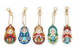 Set of 5 Dolls | Key Chains | Diamond Painting - Treasure Studios Art
