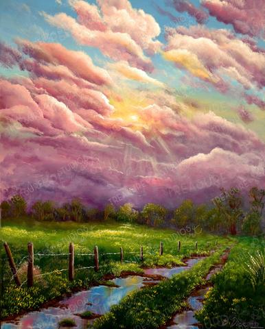 After the Rain by Debra Dickson | Diamond Painting
