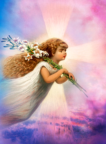 Angel in the Sky | Diamond Painting - Treasure Studios Art