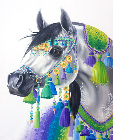 Arabian Princess by Nicolee Payne | Diamond Painting