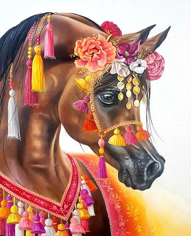 Arabian Queen by Nicolee Payne | Diamond Painting