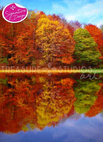 Autumn Reflection | SIGNATURE | Diamond Painting - Treasure Studios Art