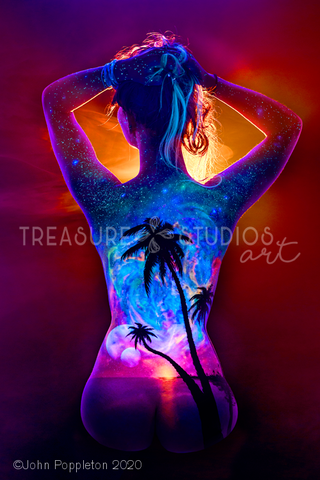 Beyond the Horizon by John Poppleton | Diamond Painting - Treasure Studios Art