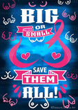 Big or Small Save Them All | LIMITED EDITION |  Diamond Painting