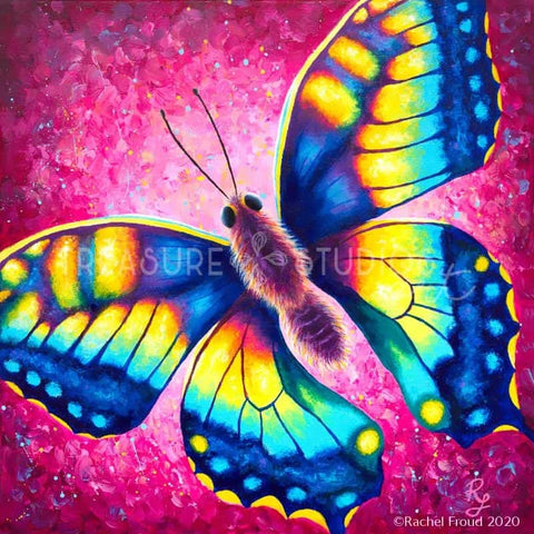CHANGE! Butterfly by Rachel Froud | Diamond Painting - Treasure Studios Art