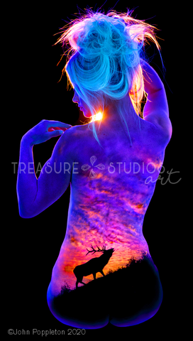 Call of the Wild by John Poppleton | Diamond Painting - Treasure Studios Art
