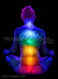 Chakras by John Poppleton | Diamond Painting - Treasure Studios Art
