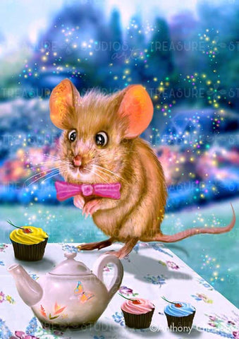 Door Mouse by Anthony Christou | Diamond Painting