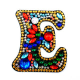 Single Alphabet Letters | Key Chains | Diamond Painting - Treasure Studios Art