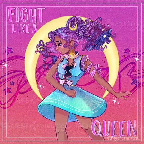 Fight Like a Queen by Nystique Arts | Diamond Painting