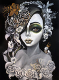 Flora by Lizzy Falcon | Diamond Painting - Treasure Studios Art