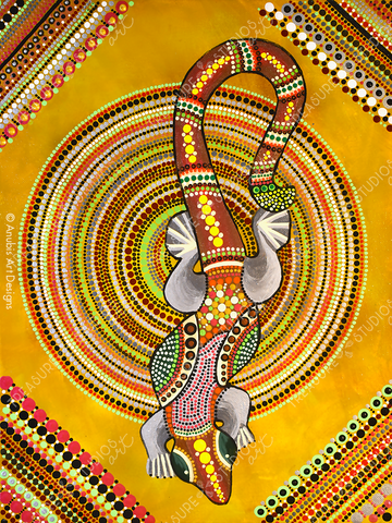 Gecko by Anubis Art Designs | Diamond Painting