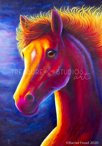 RUN FREE! Horse by Rachel Froud | Diamond Painting - Treasure Studios Art