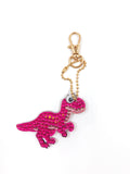 Set of 6  Cute Dinos | Key Chains | Diamond Painting - Treasure Studios Art