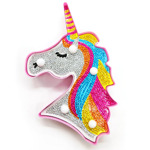 Unicorn | LED Light | Diamond Painting - Treasure Studios Art