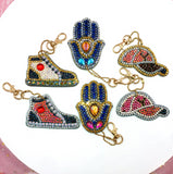Set of 6 Trends | Key Chains | Diamond Painting - Treasure Studios Art