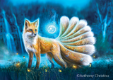 Kitsune by Anthony Christou | Diamond Painting - Treasure Studios Art