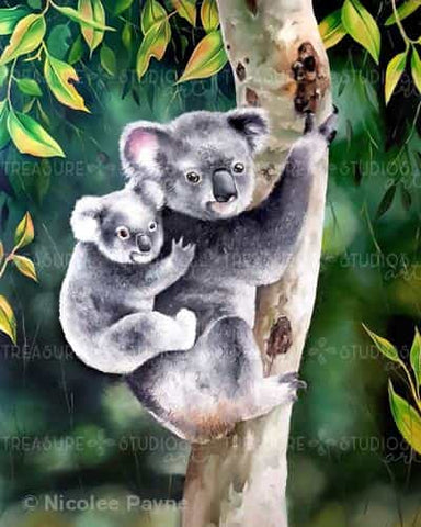 Koala & Bub by Nicolee Payne | Diamond Painting