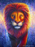 THE KING! Lion by Rachel Froud | Diamond Painting - Treasure Studios Art