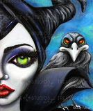 Maleficent by Lizzy Falcon | Diamond Painting