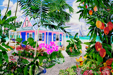The Mango House by Eileen Seitz | Diamond Painting