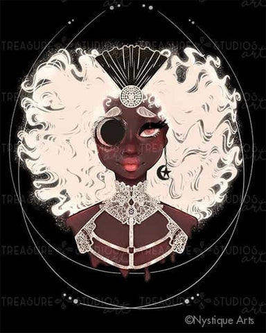 Moon Goddess by Nystique Arts | Diamond Painting