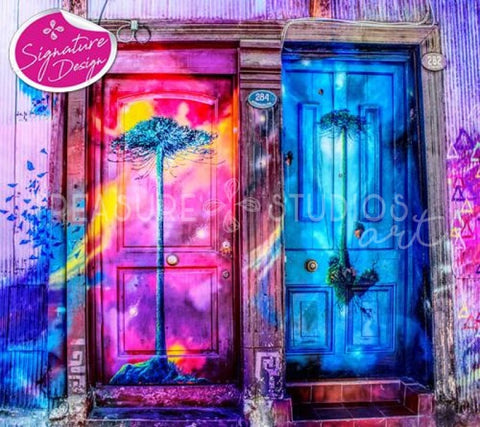 Mystery Doors | SIGNATURE | Diamond Painting - Treasure Studios Art