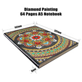 Jewelled Mandala Journal Note Book | Diamond Painting - Treasure Studios Art
