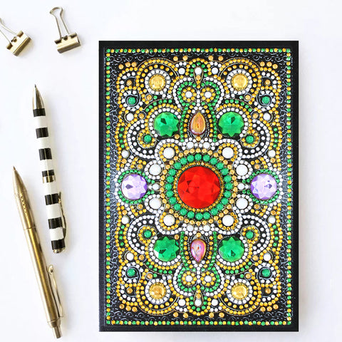 Emerald Delight Journal Note Book | Diamond Painting - Treasure Studios Art