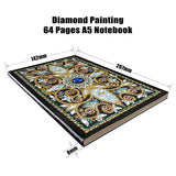 Sapphire Moon Journal Note Book | Diamond Painting - Treasure Studios Art