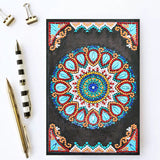Dazzle Mandala Journal Note Book | Diamond Painting - Treasure Studios Art
