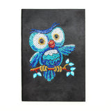 Little Owl Journal Note Book | Diamond Painting - Treasure Studios Art