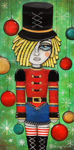 Nutcracker  by Lizzy Falcon | Diamond Painting
