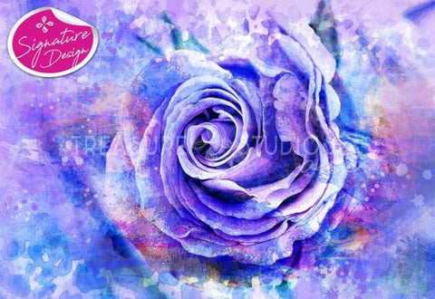 Painted Rose |  SIGNATURE | Diamond Painting - Treasure Studios Art