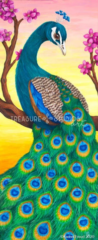 PROUD! Peacock by Rachel Froud | Diamond Painting - Treasure Studios Art