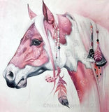 Pink Boho Horse by Nicolee Payne | Diamond Painting - Treasure Studios Art